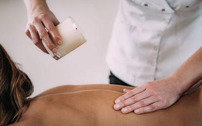 Candle Massagem com Esfoliação